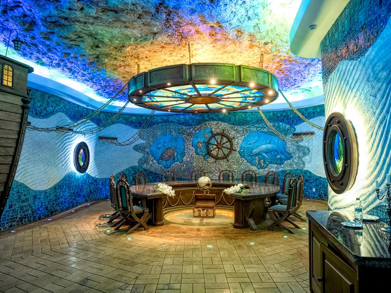 Degustation room