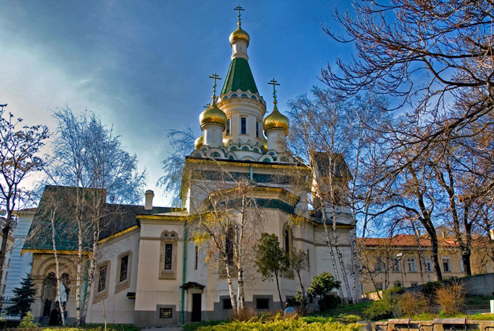 Russian church st. Nicolas