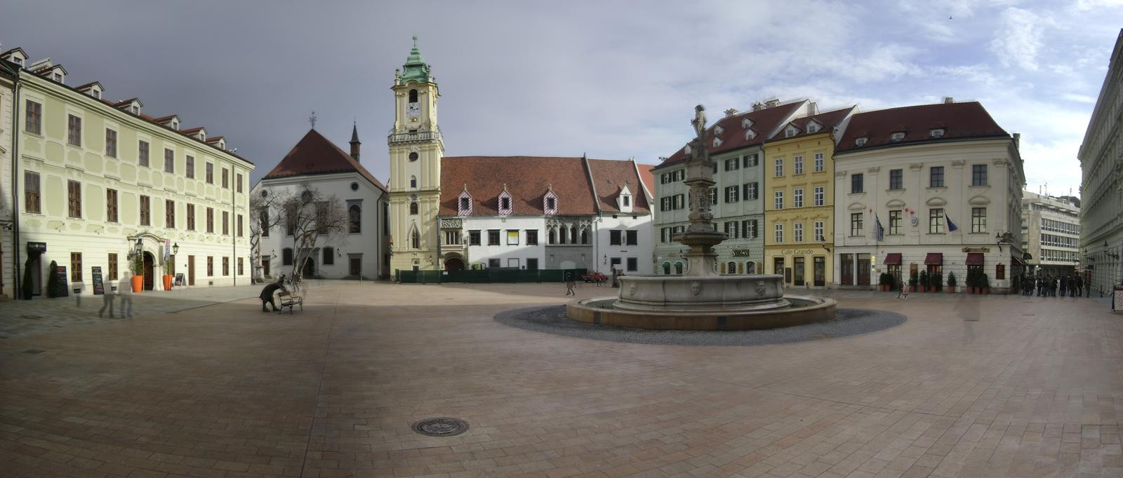 La piazza Principale