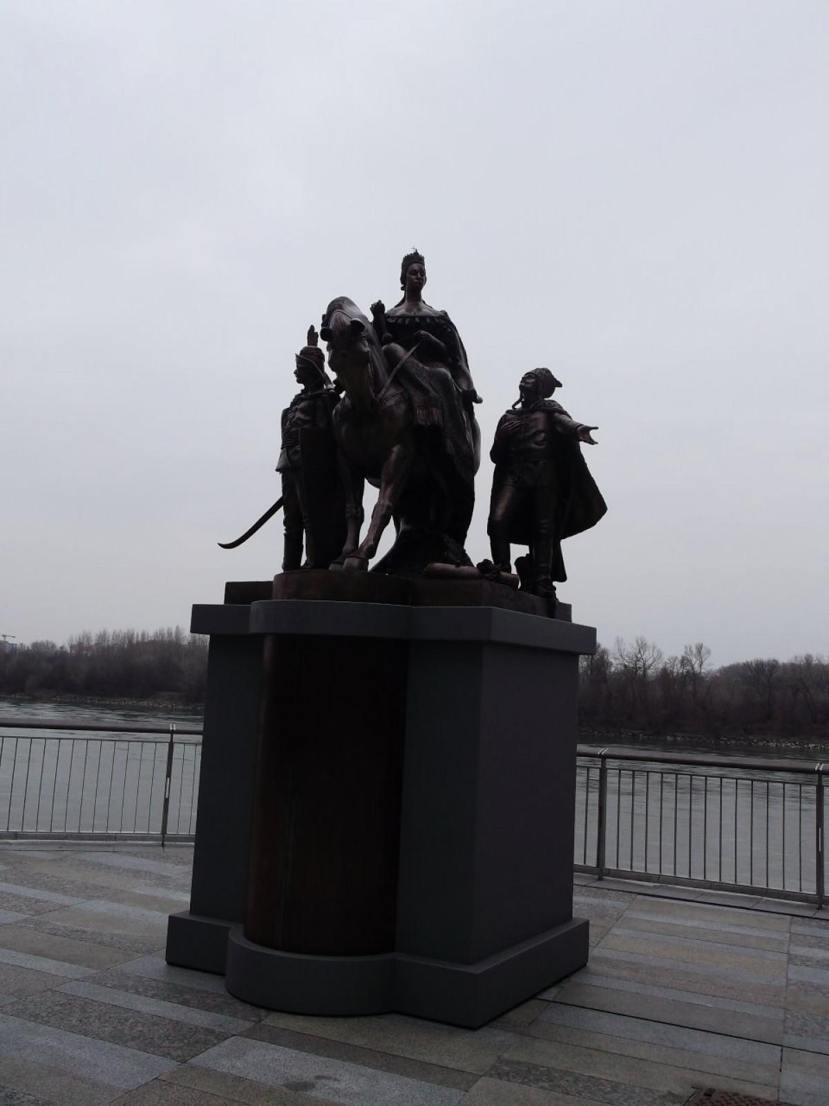 Statua di Maria Teresa d'Austria