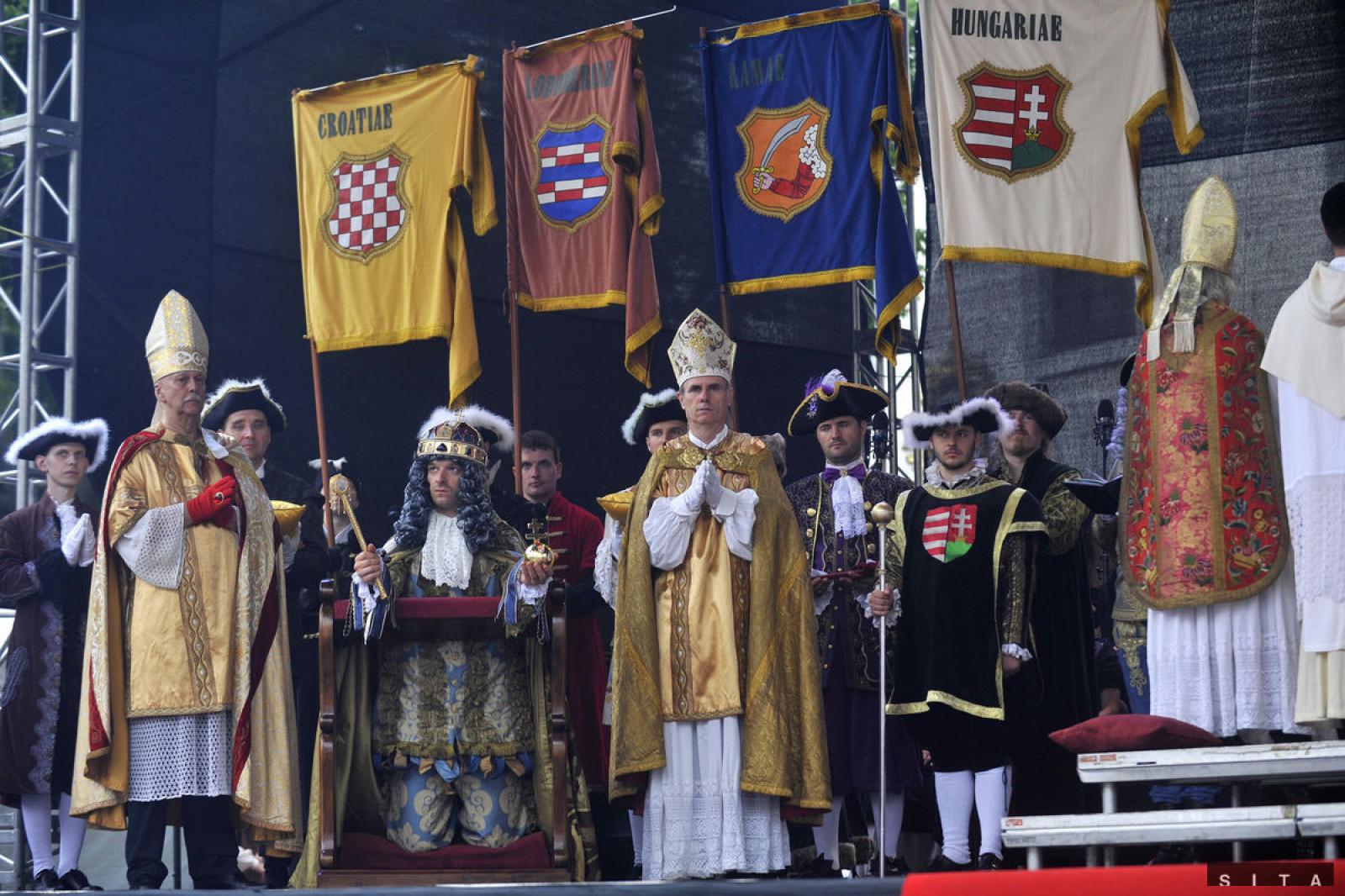 Incoronazione dei re Ungheresi - festa ogni anno