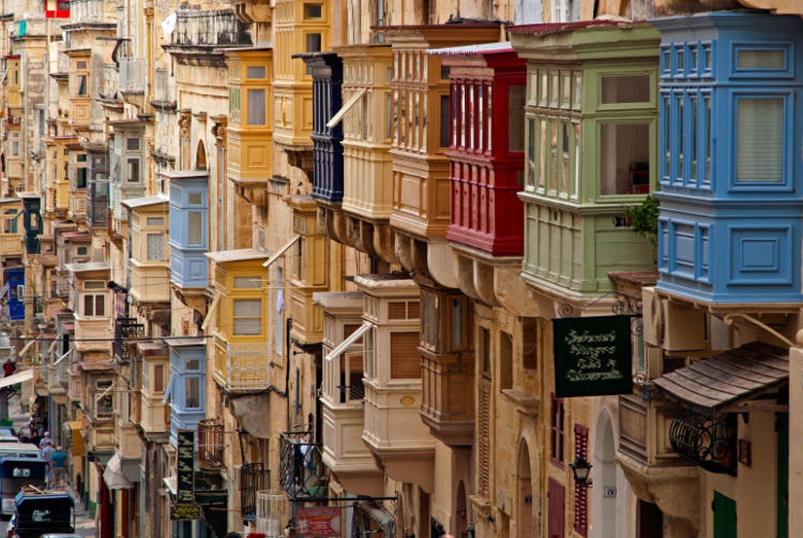 Valletta Streetscape