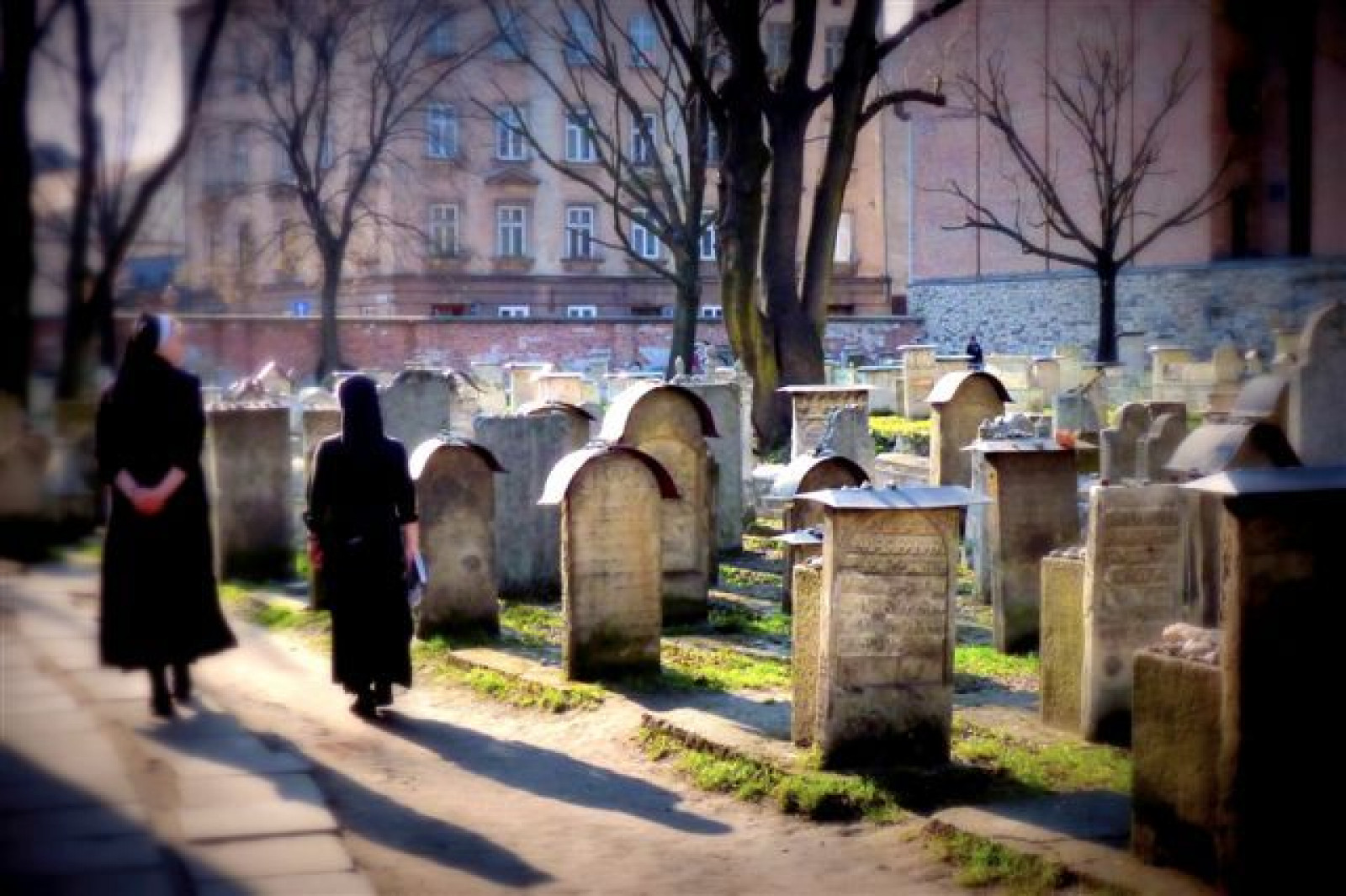 The Jewish cementry