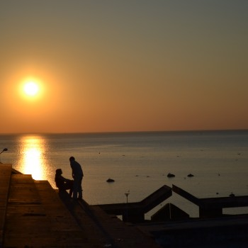Sunset in Pirita