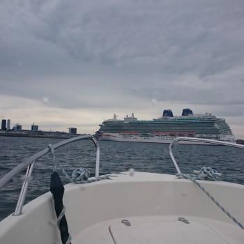 Marine trip in Tallinn bay