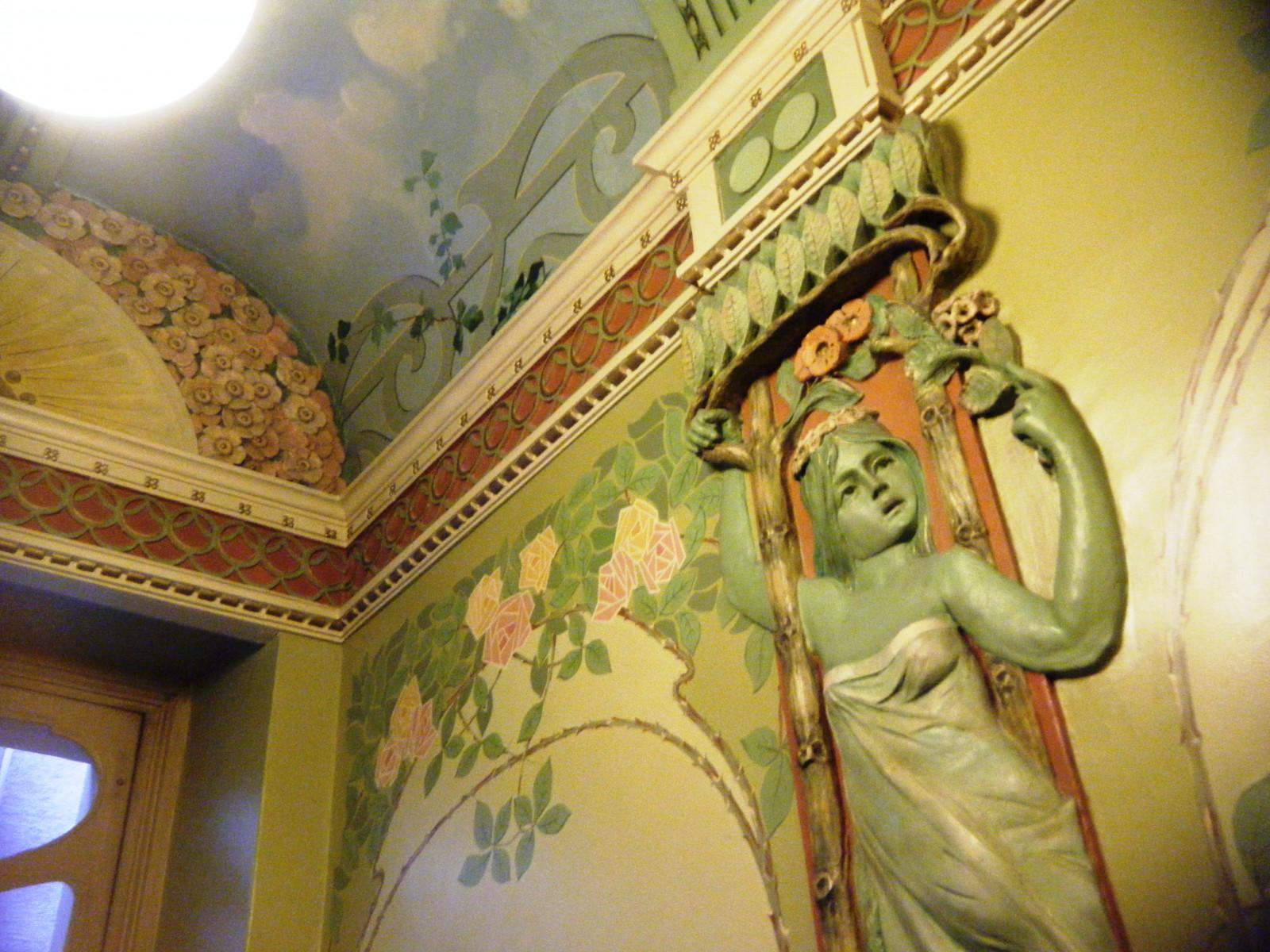 Art Nouveau Interiours