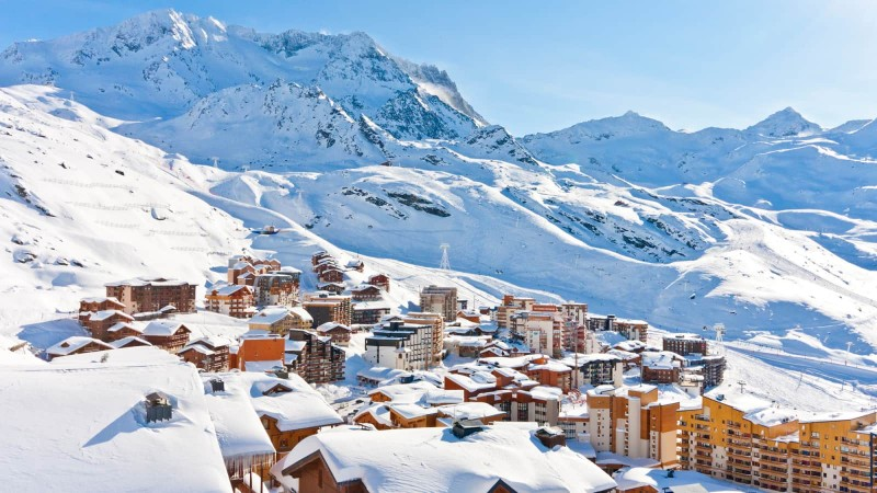 Nejlepší lyžařské střediska Val Thorens