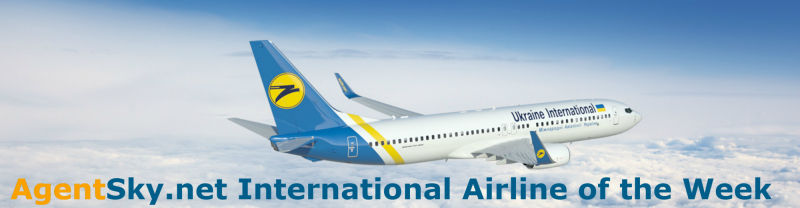AgentSky.net Internationellt flygbolag i veckan: PS - Ukraina International Airline